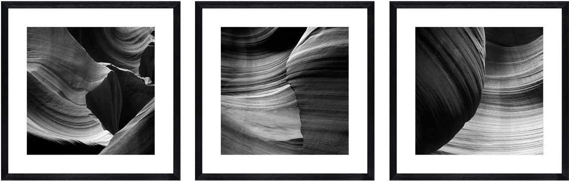 Antelope-Canyon-black-triptych-crop