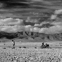Man Bike Mountain